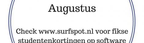 Tip van de Maand Augustus
